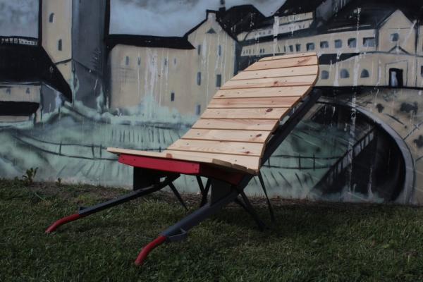 "Lagerfeuersessel ""Stadtindianer"""